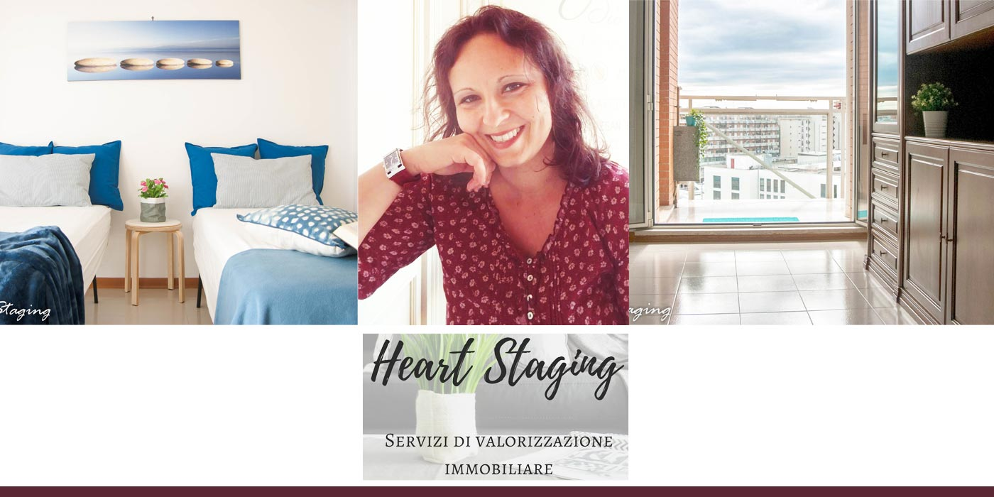 Progetto e allestimento di Heart Staging home staging