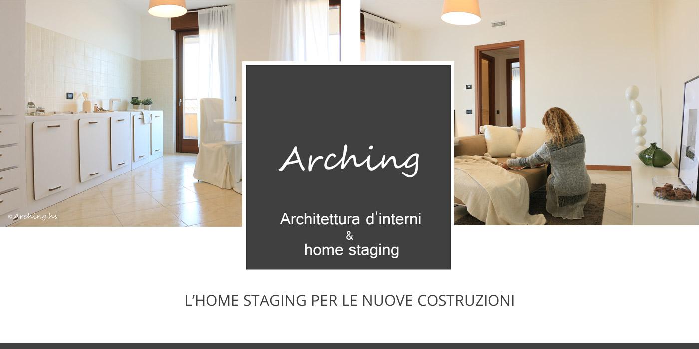 Progetto, allestimento e fotografie Arching – Architettura d'interni & home staging, Arch. Lucia Garofolini